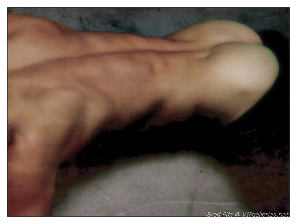 Senseless. Nude brad pitt pics