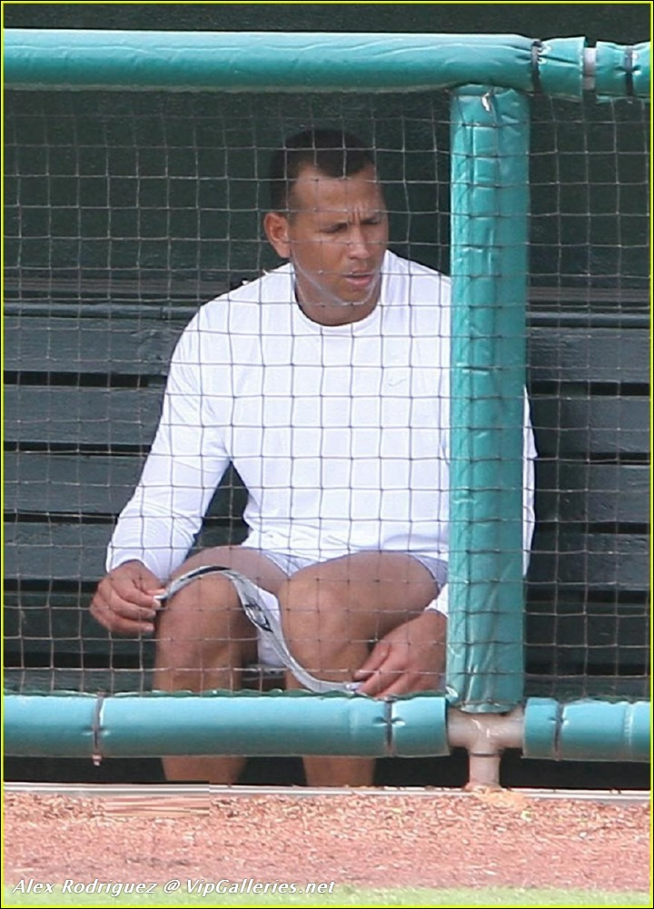Naked Alex Rodriguez 50