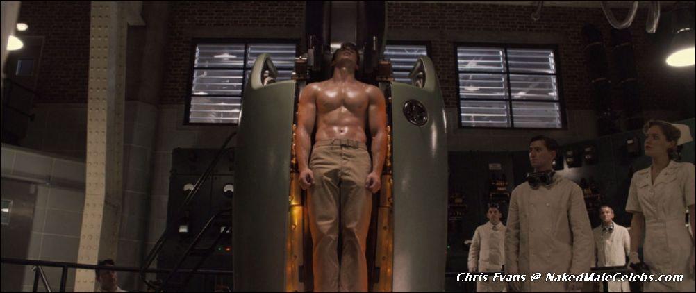Chris Evans Nude