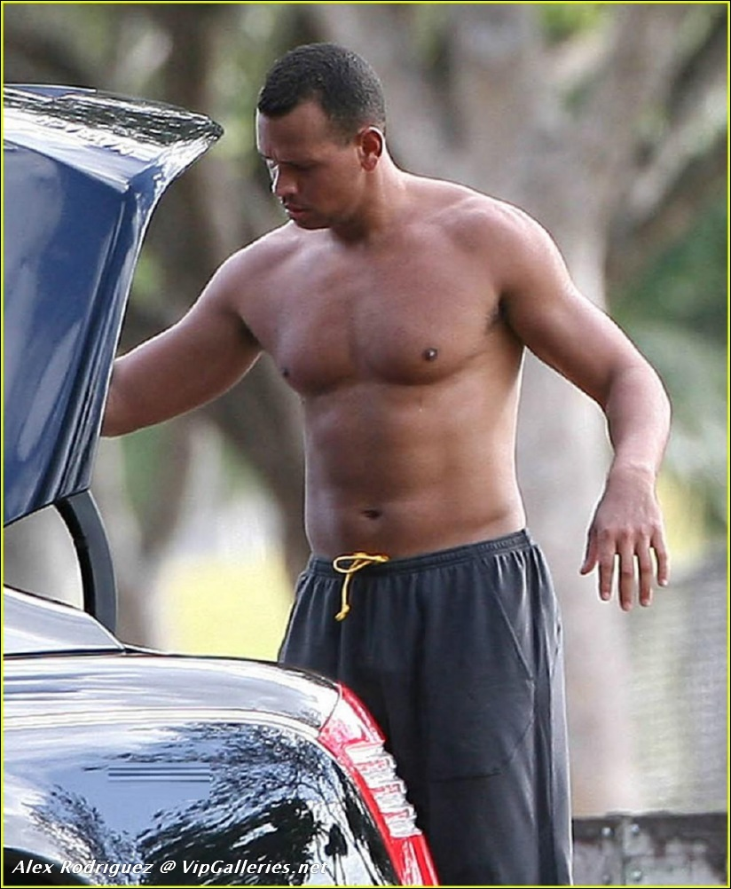 Naked Alex Rodriguez 35