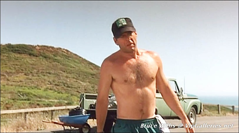 Something is. Bruce willis nude naked